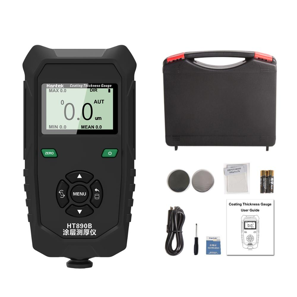 Hantek HT890B Coating Thickness Gauge with 2 Thickness Measurement Methods Car Paint Film Thickness Tester недорого