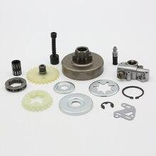 """3/8 """"embrayage tambour pignon jante pompe à huile filtre ligne rondelle réparation pour Stihl MS380 MS381 MS 381 038 1119 0007 1003, 1119 640 3200"""