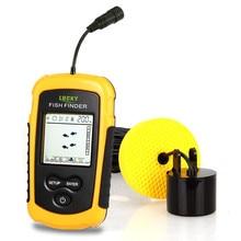 Obsession FF1108-1 Portable Fish Finder ice fishing Sonar Sounder Alarm Transducer Fishfinder 0.7-100m Fishing Echo Sounder