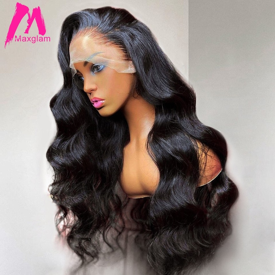 Body Wave Lace Front Wig 30 Inch Lace Frontal Wigs Human Hair For Black Women Brazilian Full Remy Pre Plucked 13x4 Hd Lace Wig