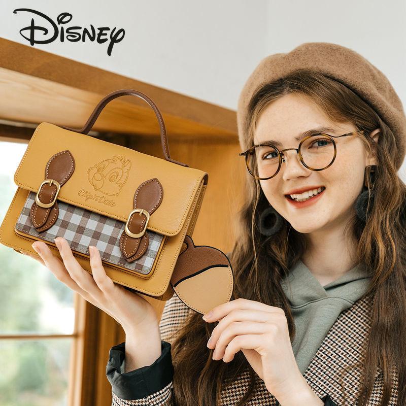 Disney Cartoon Ladies Cute Shoulder Bag Fashion Casual All-match Messenger Bag Large Capacity Multifunctional Ladies Handbag