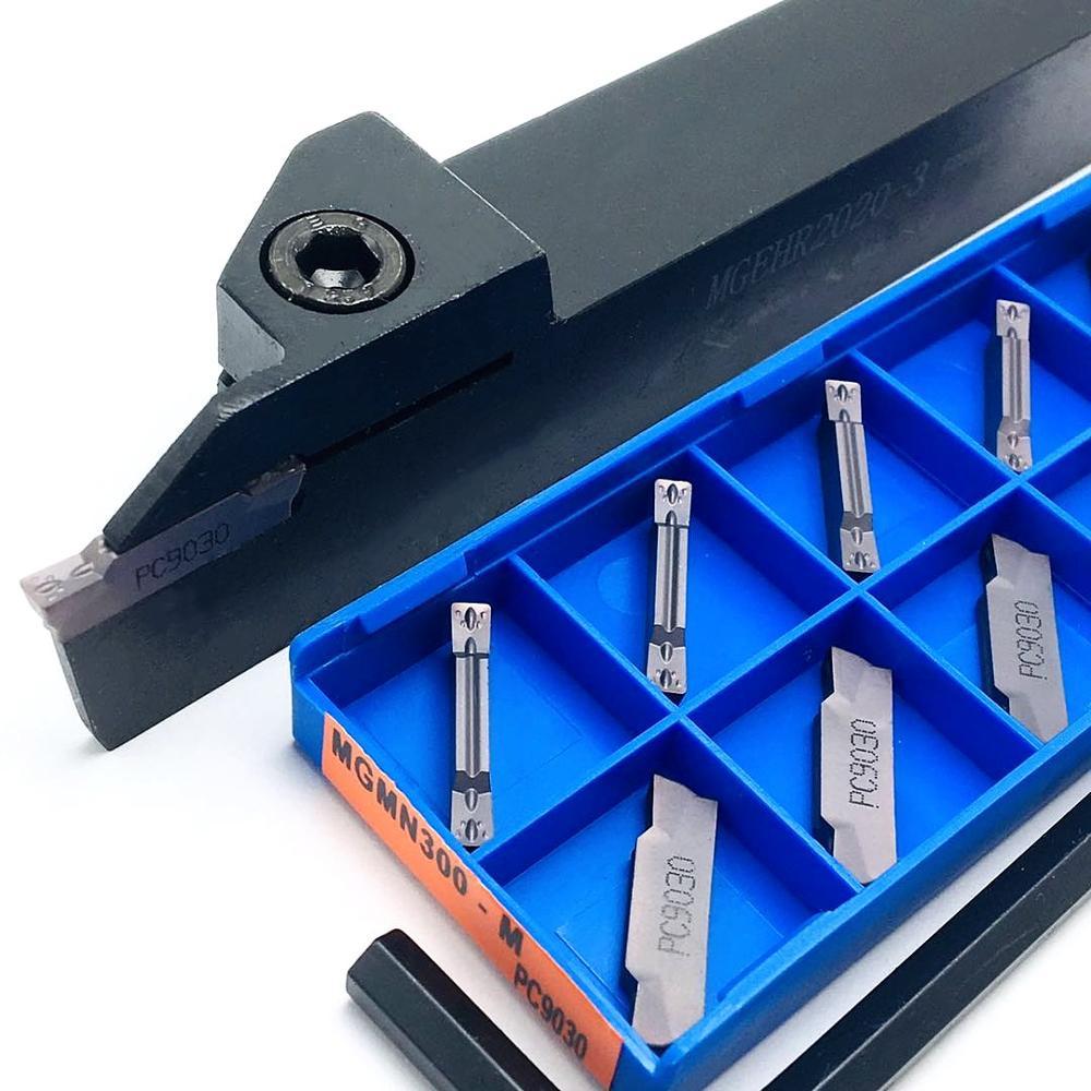 Slotting tool holder MGEHR2020-1.5 MGEHR2020-2 MGEHR2020-3 MGEHR2020-4 + Slotting blade MGMN150 MGMN200 MGMN300 MGMN400 enlarge