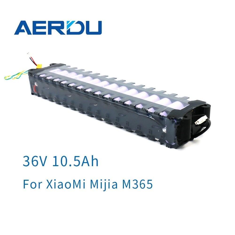 AERDU 10s3p 36 فولت 10.5AH بطارية ليثيوم حزمة ل M365 سكوتر كهربائي ذكي استبدال البطارية الأصلية مع الاتصالات