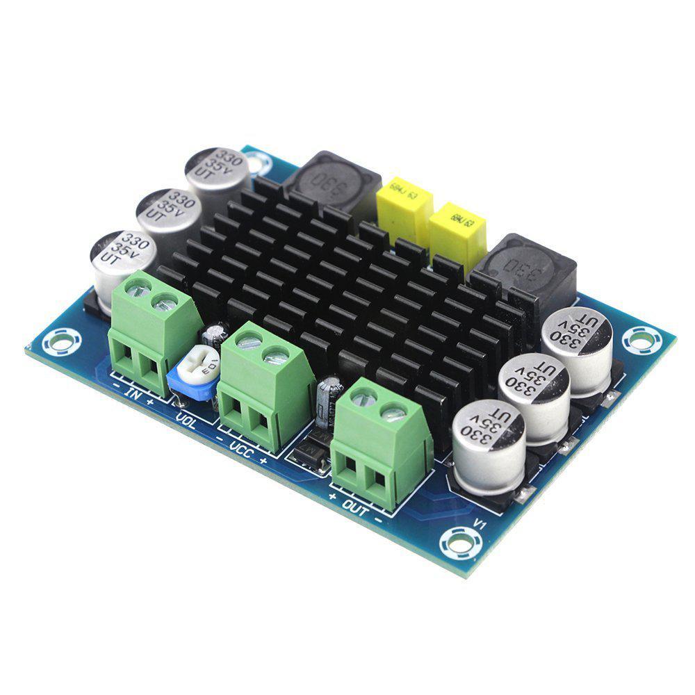 DC 12-24V 100W DA Mono Digital Audio Power Amplifier DIY Sound Speaker Home Amplifier