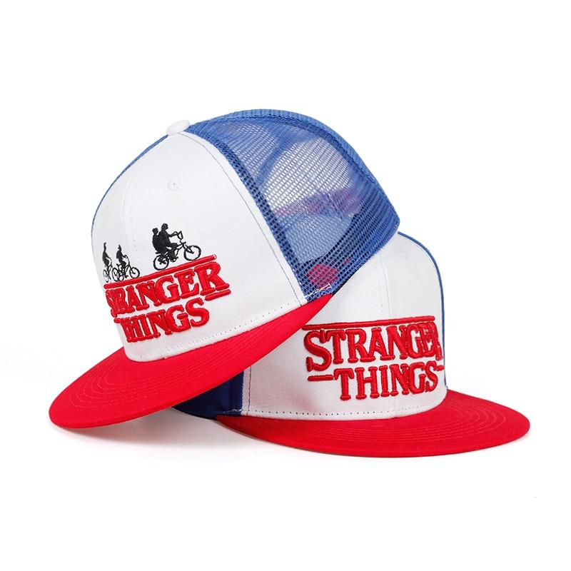 Stranger Things Baseball Cap Snapback Hat For Boy Men Women Brand Adjustable Hats Caps 2019 Fashion New