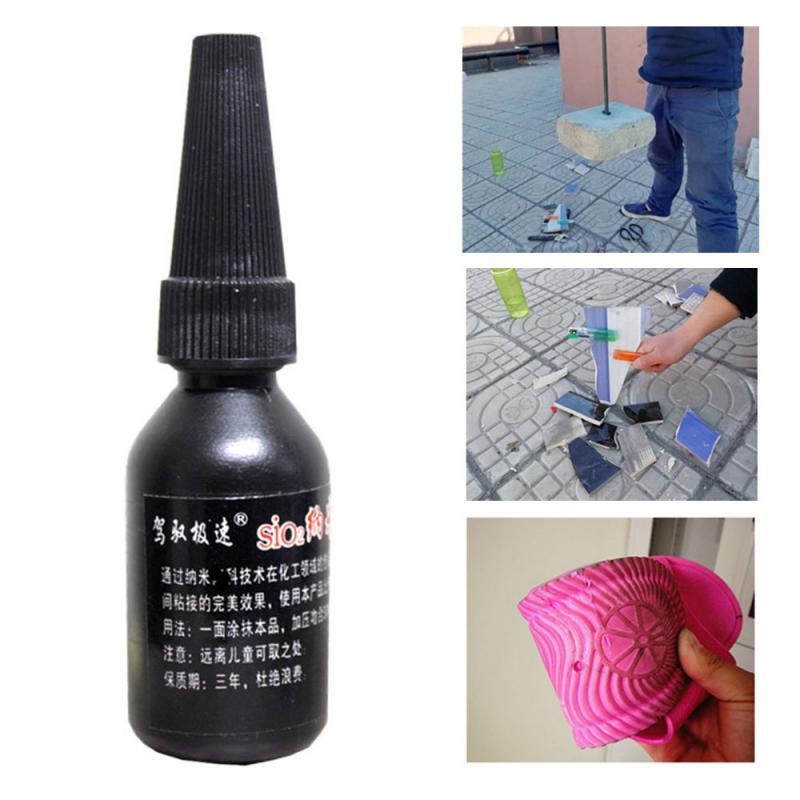 Cola para reparo de pneus de 30ml, agente de solda de reparo rápido, cola nano-líquida, remendo de borracha de cimento para reparação de punção solução