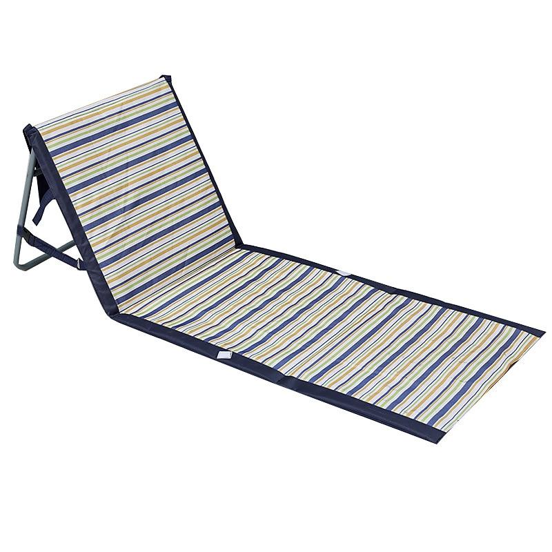 Foldable Deck Chair Portable Beach Chairs Aluminum Single Recliner Sofa Lounge Outdoor Furniture Park And Beach Chair eco friendly cedarwood outdoor sun loungers folding deck chair sling chair beach lounge recliner