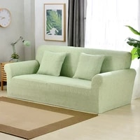 solid stretch elastic sectional sofa cover for living room sofa chaise cover slipcover modern couch armchiar cover home decor