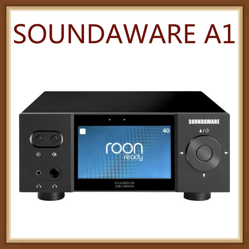 SOUNDAWARE A1 الوطني ايفي تدفق الموسيقى لاعب متكامل متعدد الوظائف سطح المكتب مع DAC المزدوج مضخم ضوت سماعات الأذن