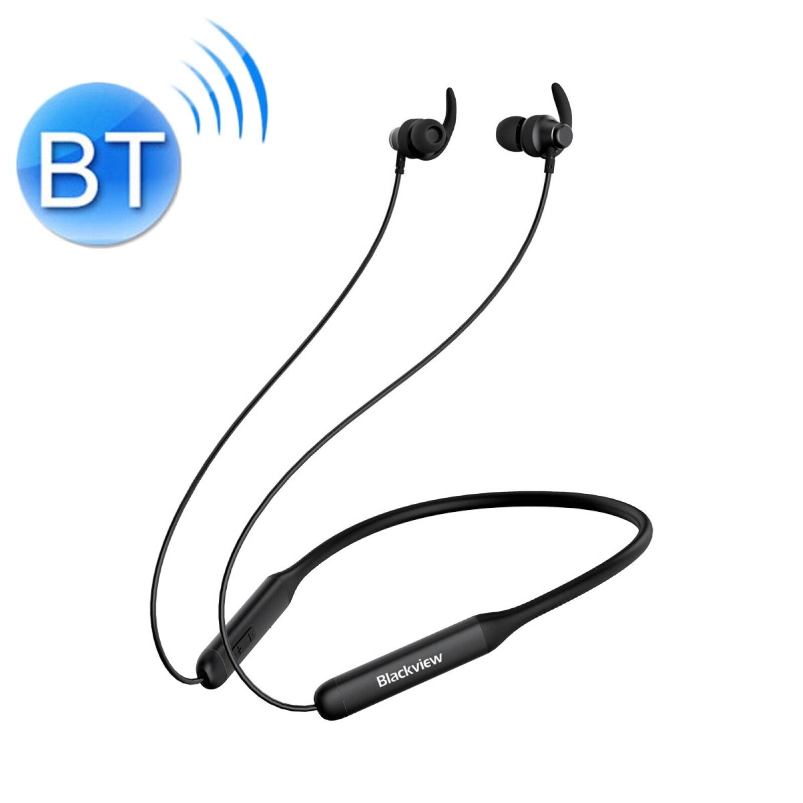 Blackview FitBuds 1 CVC8.0 الحد من الضوضاء الرقبة الخيالة المغناطيسي الرياضة بلوتوث سماعة دعم سلك التحكم و مساعد الصوت
