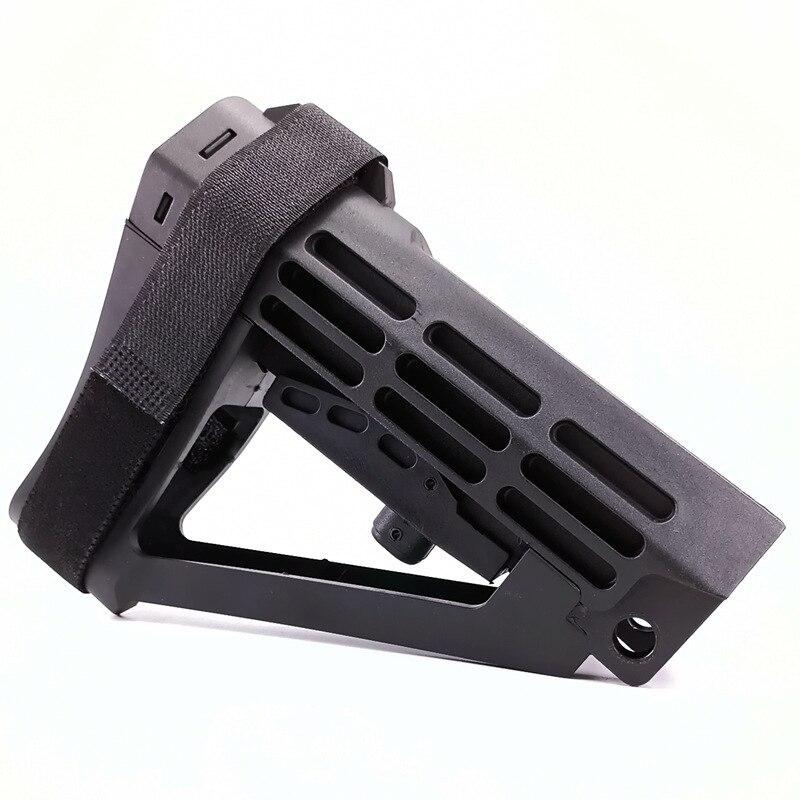Estoque traseiro cinta de estabilização suporte náilon gel blaster acessórios ar15 slr 556 m4 m416 jin ming jinji kublai gbb