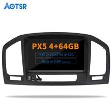 Aotsr-lecteur DVD autoradio Android 9.0   NAVI DSP multimédia pour Opel Vauxhall Holden Insignia 2008 - 2013 Navigation GPS