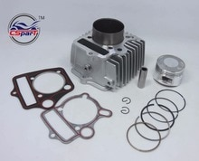 54mm 125CC Aluminium Legierung big bore kit Zylinder set für Dirt Bike ATV Honda C100 C110 CT100 JH110 DY110 QJ110-9 ZS110 152FMH