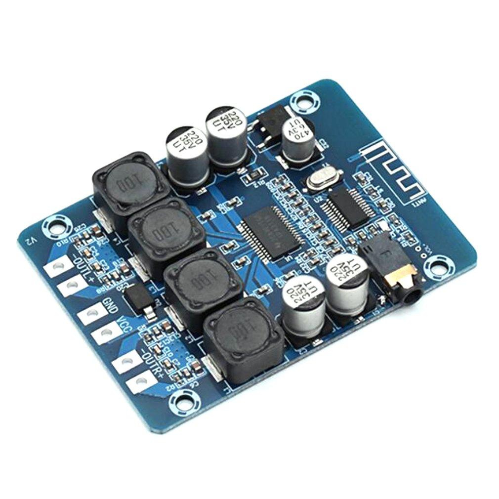 XH-M314 tpa3118 2x45 w 12 v 24 v áudio estéreo bluetooth digitale versterker placa amplificador conversor