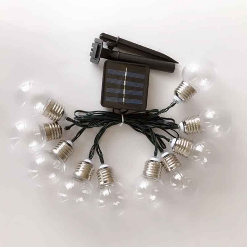 Guirnalda de luces Led de hadas para exteriores, luz Led Solar de...