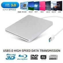 Externe USB 3.0 Daten Übertragung Slot DVD Brenner Externe Mobile Disc-Player Laptop Computer Optische Stick DVD-ROM