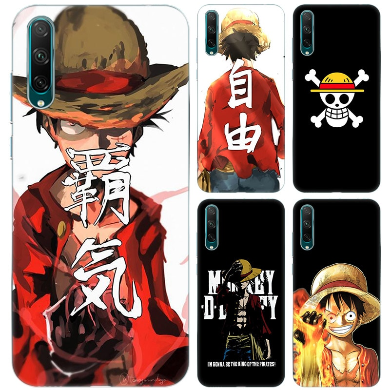 Caliente Anime una pieza mono D Luffy suave funda para Huawei Honor 9A 9S 9C 9X Lite X10 Max V20 V30 30 30 jugar 3E 4T Pro Plus 5 5G