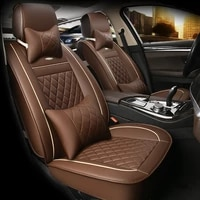 hlfntf leather universal car seat cover for volvo s60l v40 v60 s60 xc60 xc90 xc60 c70 s80 s40 car accessories car styling