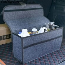 Boîte de rangement de coffre dorganisateur de voiture tapis de grande capacité pliant le stockage de cargaison