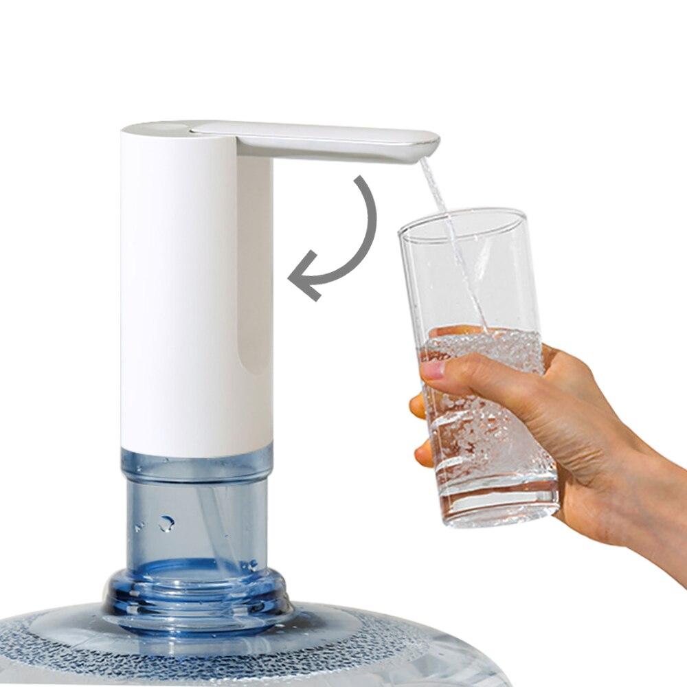 مضخة مياه المعبأة في زجاجات قابلة للطي ، موزع مياه كهربائي Usb الشحن المنزلية ، مفتاح ذكي التلقائي ، مضخة مياه 19 لتر
