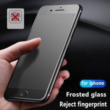 9H Matte Frosted Full Cover Tempered Glass Screen Protector Film for iPhone 12 11 Pro MAX X XS XR 8 7 6 Plus SE Anti-fingerprint