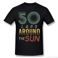 50 birthday gift vintage men t shirt big size short sleeve funny t shirts