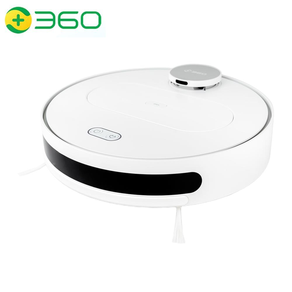 360 S6 Robot aspiradora automática LDS planeado poderoso seco y húmedo barriendo fregar limpiar limpiador-recarga para casa