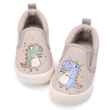 Muyguay Toddler Shoes Boy's Girl's Slip On Canvas Sneakers