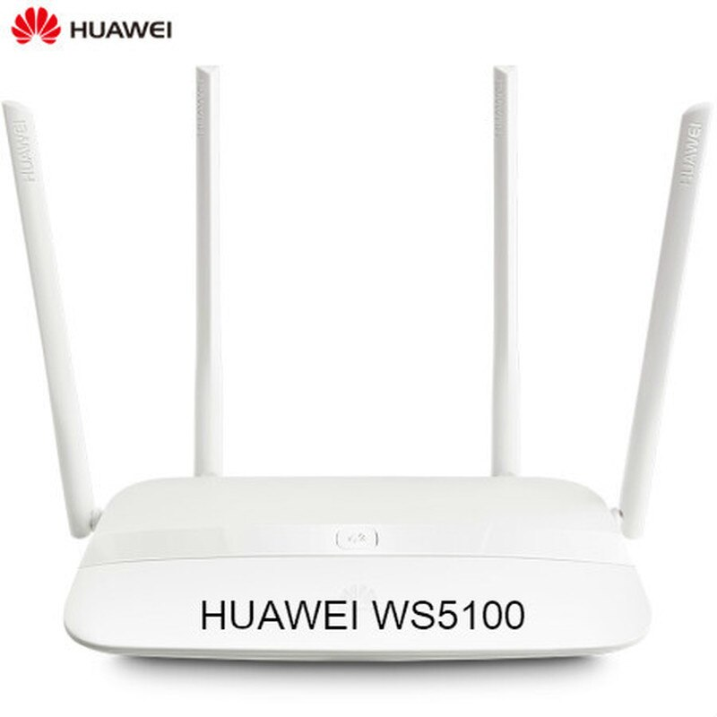 HUAWEI WS5100 smart home WiFi 1200M doble banda inteligente router inalámbrico cuatro antenas inteligente 5G enrutamiento óptimo para el hogar IPv6