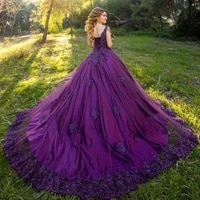 romantic quinceanera dresses spaghetti straps beading pearls tassel lace appliques lace up ball gown full length sweet 16 dress