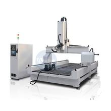 Chine AccTek automatique CNC routeur 4 axes AKM1325 3D centre de gravure