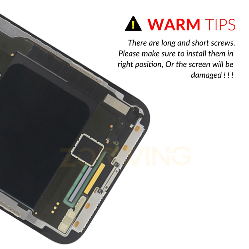 AAA OLED Screen For iPhone 11 11Pro X LCD Display Digitizer Touch Screen Replacement For iPhone XR XS MAX LCD Pantalla Assembly enlarge