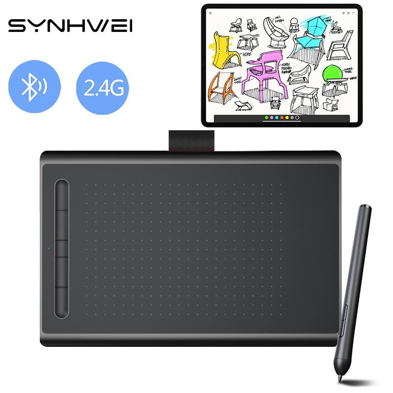 جهاز لوحي احترافي للرسومات مقاس 8 بوصات للألعاب ، 8192 مستوى ، لوحة رسم رقمية ، لوحة كتابة لاسلكية ، Android و Mac