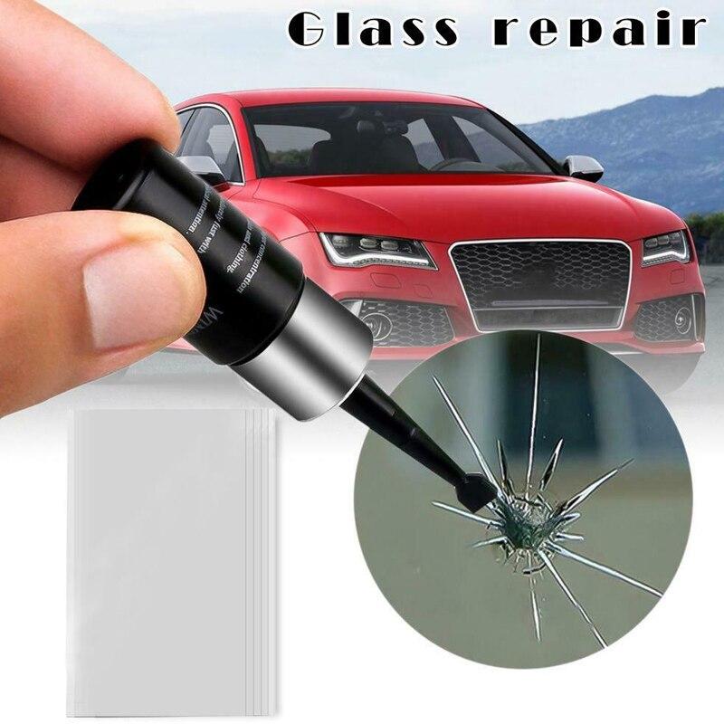 Reparación de vidrio para automoción, Kit de reparación de parabrisas líquido, agente de resina reparador de parabrisas LBShipping