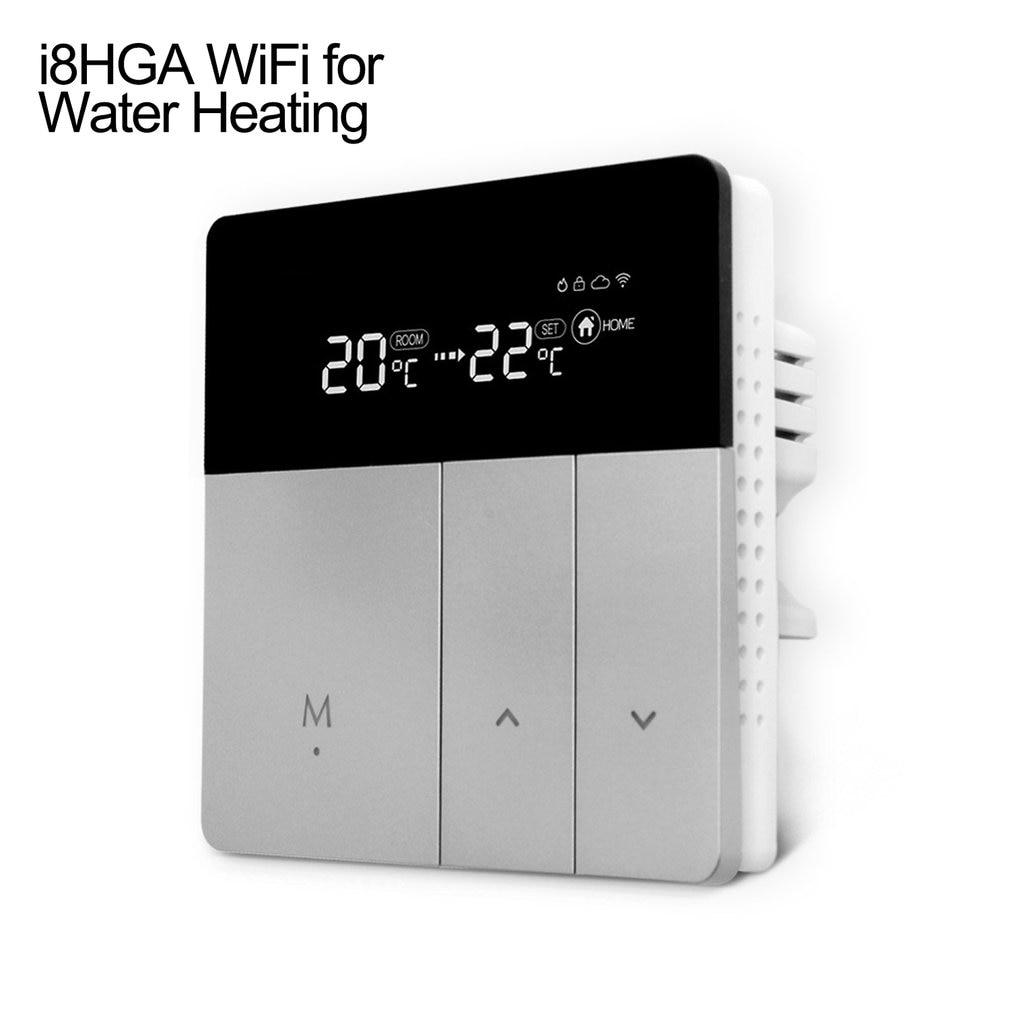 واي فاي ترموستات للكهرباء سخان المياه الكلمة التدفئة اليكسا جوجل المنزل تمكين التحكم في درجة الحرارة