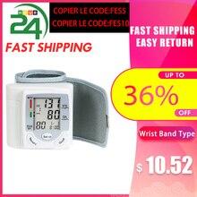 Tonometr Monitor ciśnienia krwi cyfrowy ciśnieniomierz elektroniczny przenośny ciśnieniomierz domowy typu Wrist Band