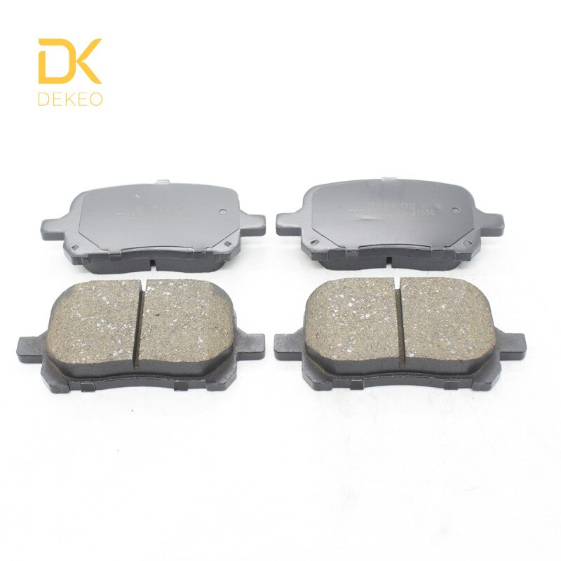 DEKEO, pastillas de freno delanteras para Toyota Camry (XV20), 2,2 L, 3,0 L, AVALON (XX20), 3,0 L, 4 Uds.