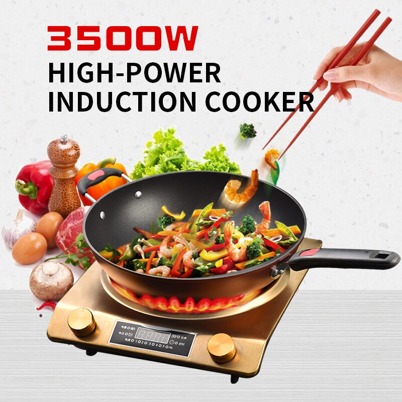 3500 واط طباخ التعريفي المقعر ، 220 واط عالية الطاقة ، وعاء ساخن ، موقد بطارية ، سعر خاص