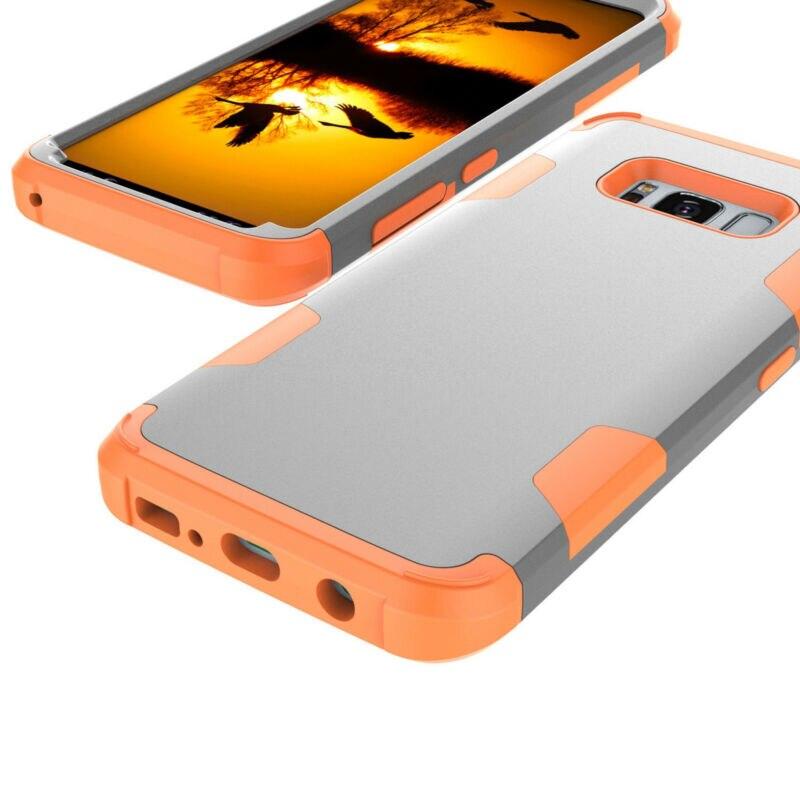Para Samsung Note 9 S8 S9 Plus Rugged Hybrid cuerpo completo a prueba de golpes funda dura para Samsung Note 8 funda de teléfono de parachoques