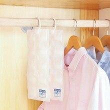 Sacs de déshydrateur de garde-robe, sachet de déshydrateur de garde-robe, sac absorbant lhumidité, sac de sécateur dhumidité pour la maison, # LR2