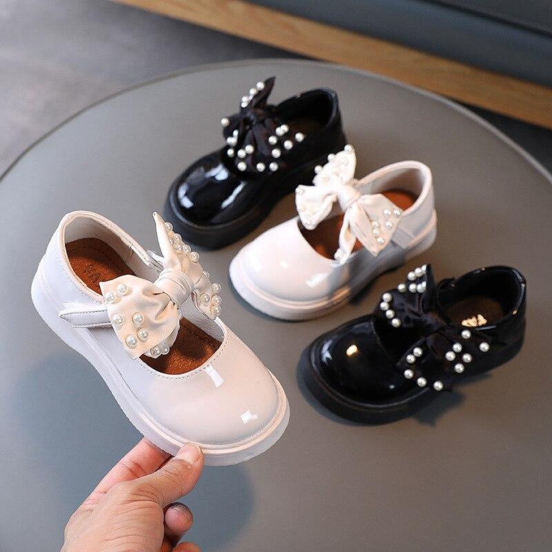 Новинка 2021, детские кожаные туфли на мягкой подошве, однотонные туфли в студенческом стиле, туфли принцессы, милые свадебные шикарные туфли ... туфли berkonty туфли