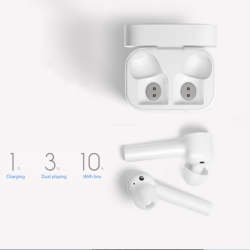 Xiaomi Airdots Pro Mi Air Bluetooth Earphone Tws ANC Switch HD Auto Pause Tap Control For IOS Android phone Smart Earphones enlarge