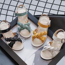 Kids Shoes 2021 Summer Baby Girls Brand Beach Sandals Toddler Fashion Casual Soft Flat Children Prin