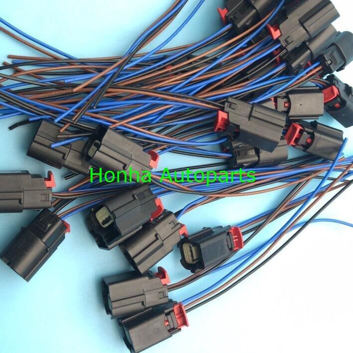 Frete grátis 100 unidades/lotes molex conector plug 3 pinos conector cablagens 31404-3110