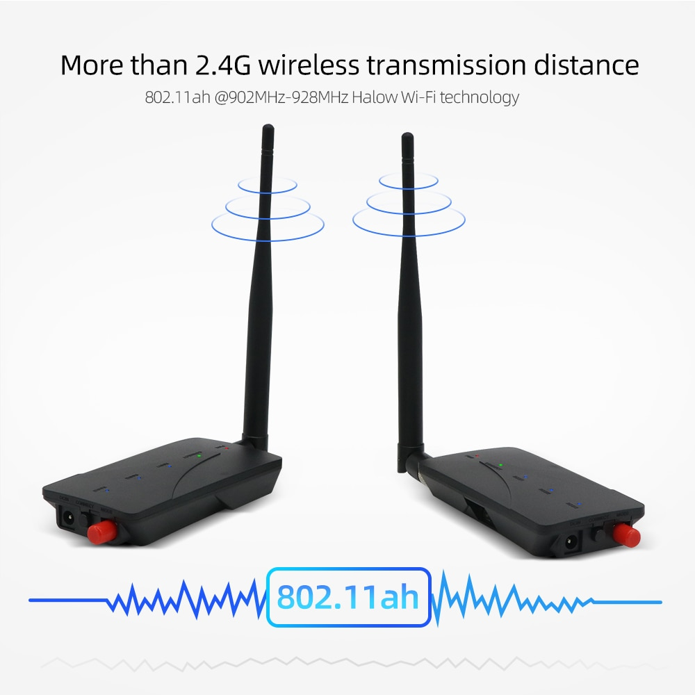 Jeatone 2.4GHz Wireless Receiver Transmitter IR Remote Extender 150m Digital STB Sharing Device Transmission enlarge