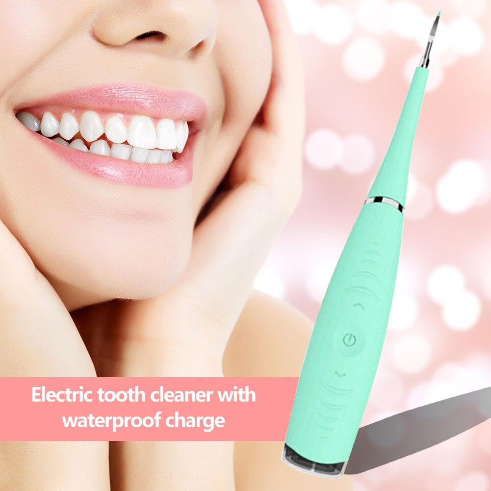 Портативный Электрический звуковой инструмент для удаления зубного камня, средство для удаления зубных пятен, зубной камень, средство для отбеливания зубов, гигиена здоровья