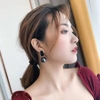 celebrity pearl earrings hong kong style new trend korean temperament net red personality earrings earrings