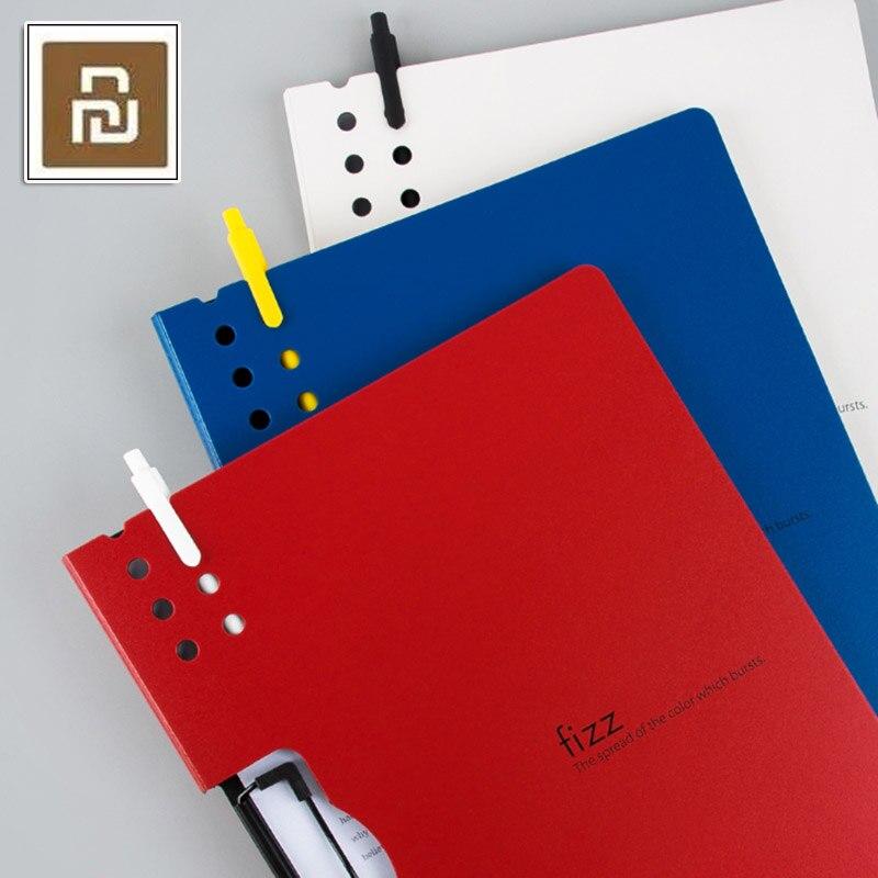 Xiaomi Fizz горизонтальная папка А4 матовая текстура Портативная подставка портативный лоток для ручек уплотненный офисный портфель для совещаний школьный офис