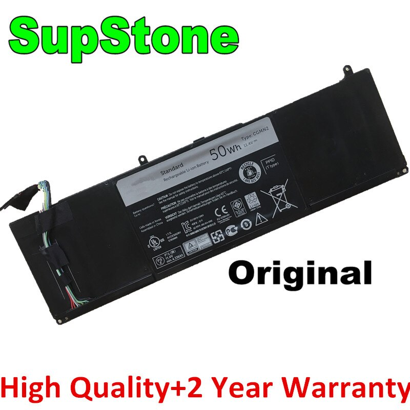 SupStone Genuine CGMN2 P19T Laptop Battery For Dell Inspiron 11-3138,11-3135,11-3137,11-3000,N33WY NYCRP P19T003 P19T001 P19T002