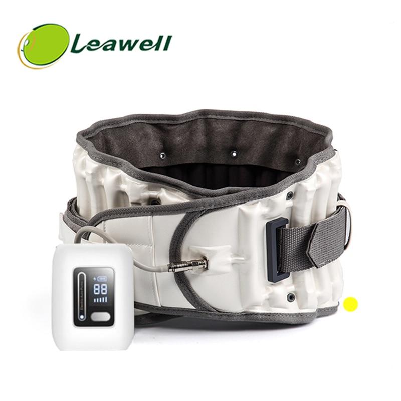 Leawell-دعم قطني قابل للنفخ ، وجر دعم قابل للنفخ لمنع تضخم الفقرات القطنية